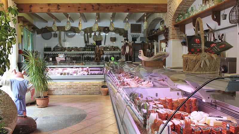 Interior Carniceria Galán Xaló